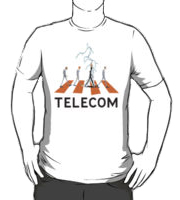 Telecom Lightning Road T-Shirt